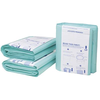 Poubelle à couches anti-odeurs 15 litres + boîte de 3 recharges Korbell