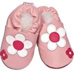 Chaussons bébé fleur rose daisy pas cher