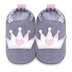 Chaussons bébé couronne pas cher