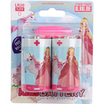Lot de 2 piles d/lr20 alkaline princesses de Kidsbattery