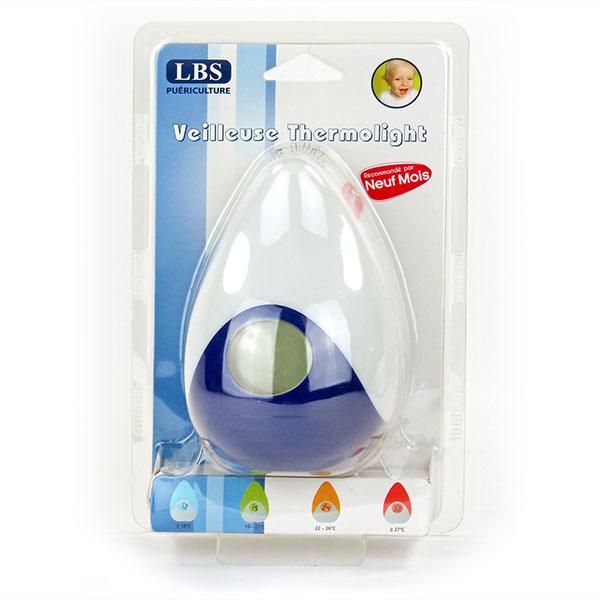 Veilleuse bébé rechargeable thermolight Lbs medical