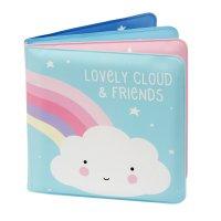 Livre de bain bébé nuage et amis