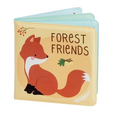 Livre de bain bébé amis de la forêt A little lovely company