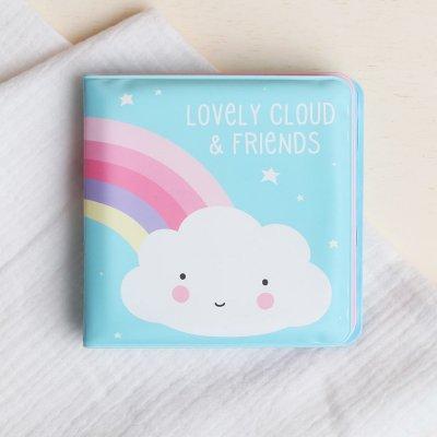 Livre de bain bébé nuage et amis A little lovely company