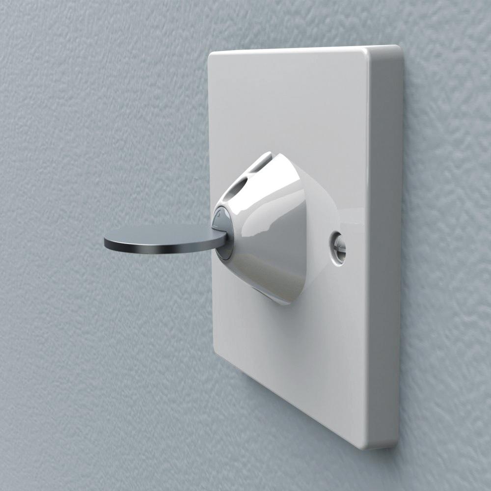 lot de 4 cache prise double protection xtra guard de lindam chez naturab b. Black Bedroom Furniture Sets. Home Design Ideas