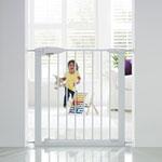 Barrière de sécurité easy close métal blanche 75-82 cm pas cher