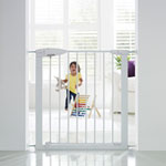 Barrière de sécurité easy close métal blanche pas cher
