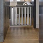 Barrière de sécurité numi aluminium 67.5-101 cm pas cher