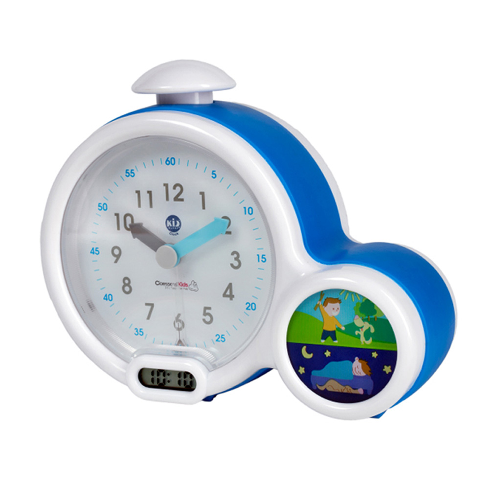 mon premier r veil b b kid sleep clock bleu de kid sleep sur allob b. Black Bedroom Furniture Sets. Home Design Ideas