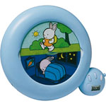 Veilleuse bébé réveil kid sleep classic bleu pas cher