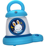 Veilleuse bébé réveil kid sleep my lantern bleu pas cher