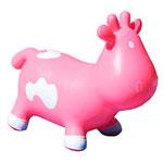 Porteur bébé betsy la vache rose et blanc pas cher