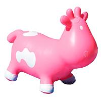 Porteur bébé betsy la vache rose et blanc