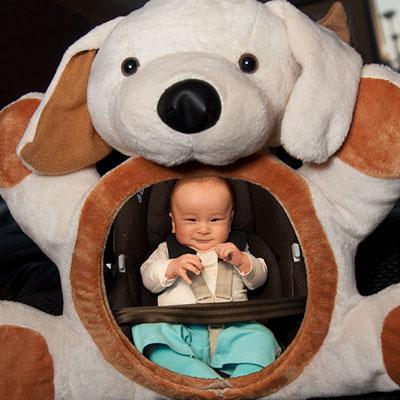 Rétroviseur bébé chien Lilikim