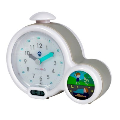 Mon premier réveil kid sleep clock gris Kid sleep