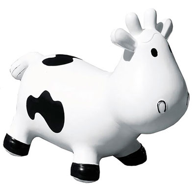 Porteur bébé betsy la vache blanc et noir Lilikim