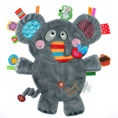 Doudou friends eléphant Label label