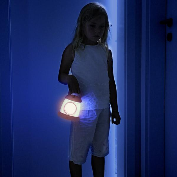 Veilleuse bébé réveil kid sleep my lantern fuchsia Kid sleep