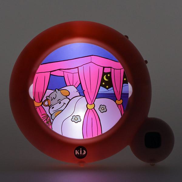Veilleuse bébé réveil kid sleep classic rose clair Kid sleep