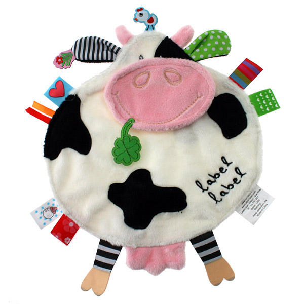 Doudou friends vache Label label