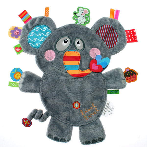 Doudou friends eléphant - mag Label label