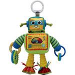 Jouet de voyage bébé rusty le robot