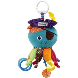 Jouet de voyage bébé capitaine calamar