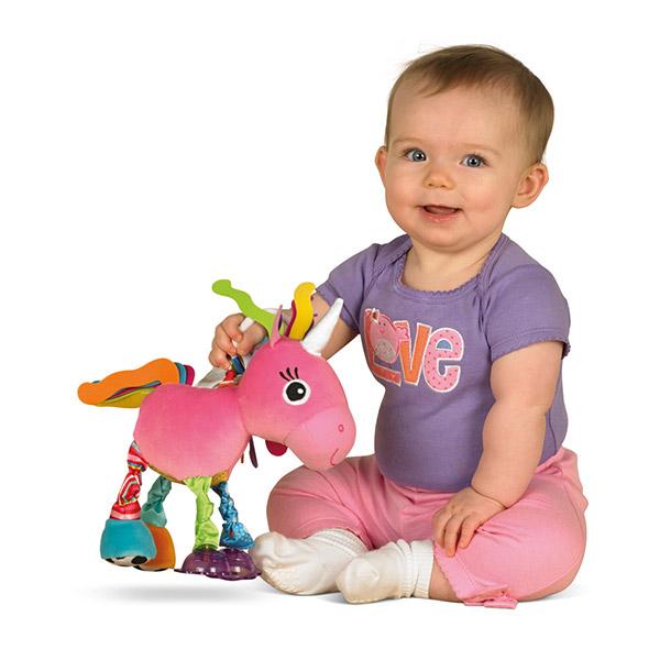 Jouet de voyage bébé luna la licorne Lamaze