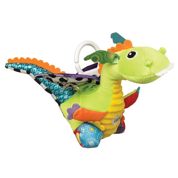 Jouet de voyage bébé flip flap le dragon Lamaze