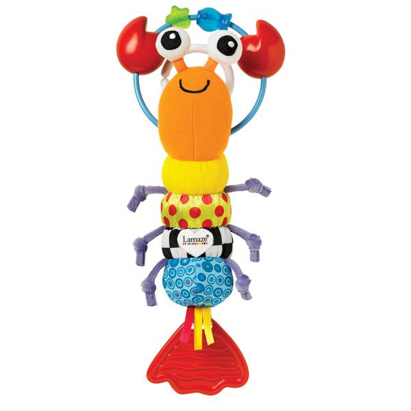 Jouet de voyage bébé thermidor le homard Lamaze