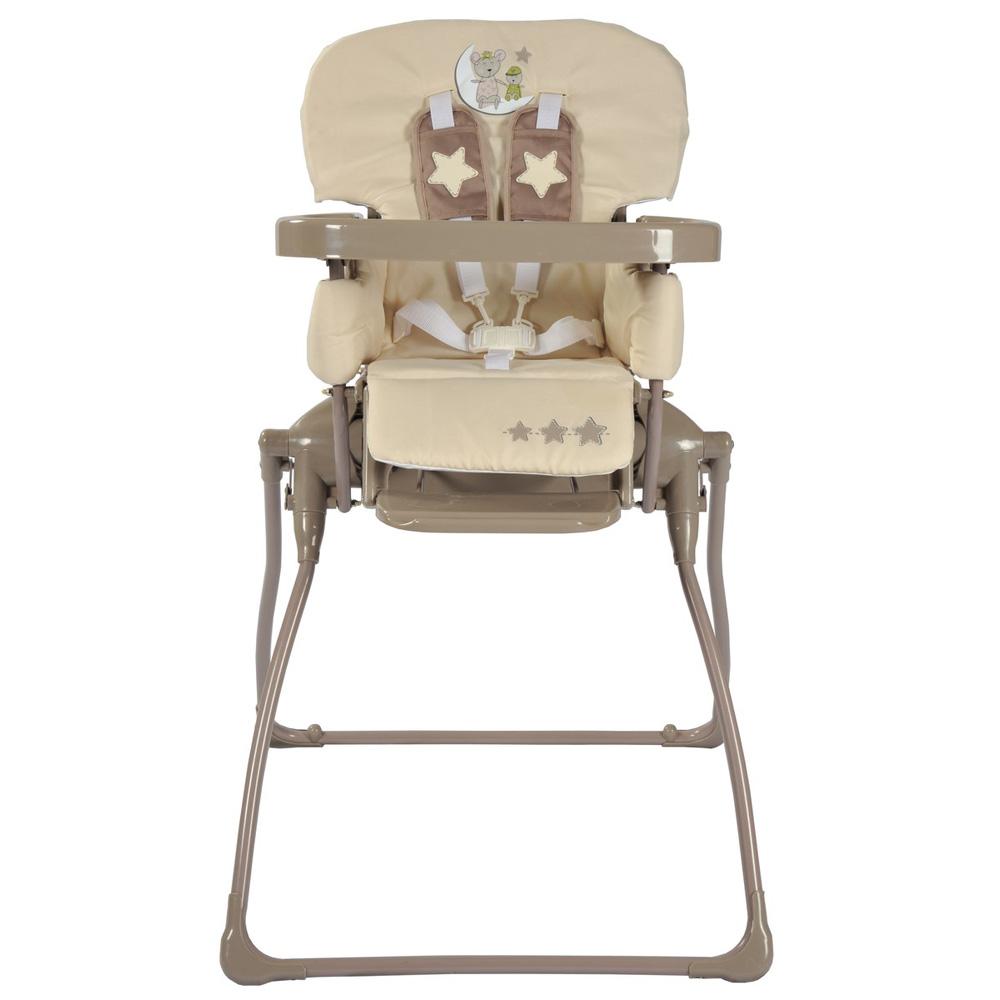 Chaise haute b b pliante ultra compacte lune c line 10 for Chaise bebe auto