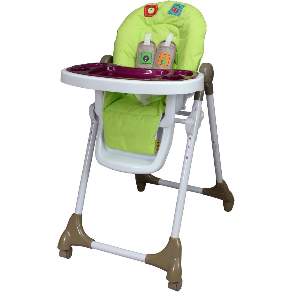 chaise haute t lescopique cassis chez allob b. Black Bedroom Furniture Sets. Home Design Ideas