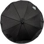 Ombrelle poussette luxe black emotion noir pas cher