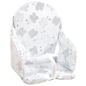 Coussin de chaise avec sangle lapin pyjama