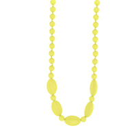 Collier licorice necklace yellow