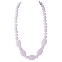 Collier licorice necklace lilac purple