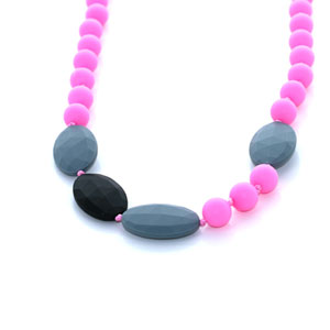 Collier candy crush necklace pink