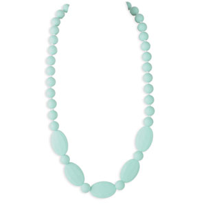 Collier licorice necklace blue green