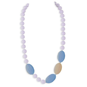 Collier candy crush necklace lilac purple
