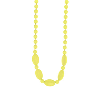 Collier licorice necklace yellow Lollipops and more