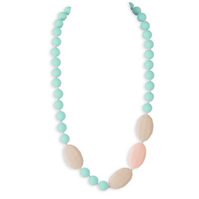 Collier candy crush necklace blue green Lollipops and more