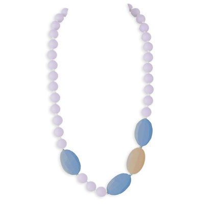 Collier candy crush necklace lilac purple Lollipops and more