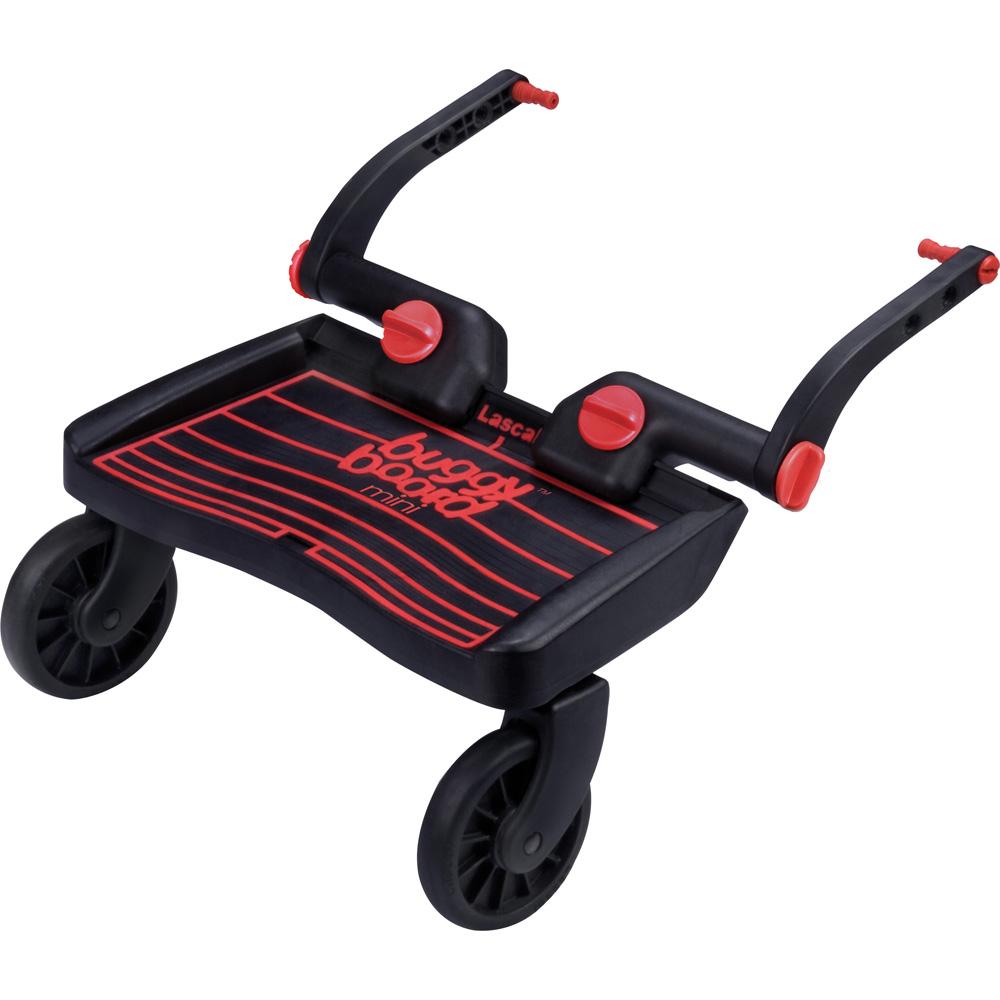 Lascal planche roulette poussette mini buggyboard noir rouge - Planche a roulette ...