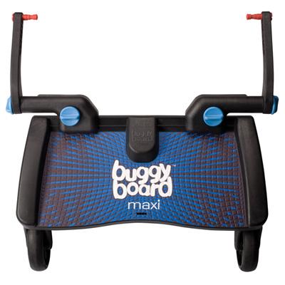 Planche à roulette poussette buggyboard maxi noir/bleu Lascal