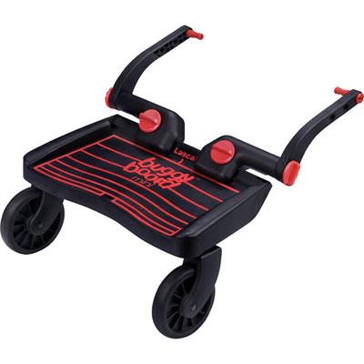 Planche à roulette pour poussette mini buggyboard noir/rouge Lascal