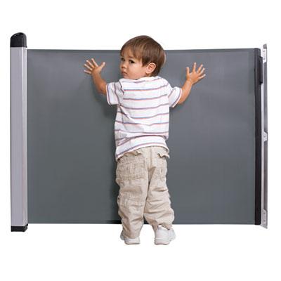 Barriére de sécurité kiddyguard avant noir 20-120 cm Lascal