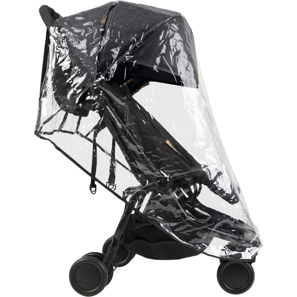habillage pluie pour poussette double nano de mountain. Black Bedroom Furniture Sets. Home Design Ideas
