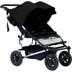 Poussette jumeaux duet black version 2 de Mountain buggy