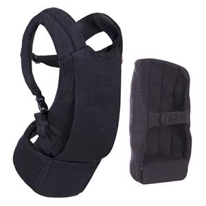 Porte bébé physiologique juno black
