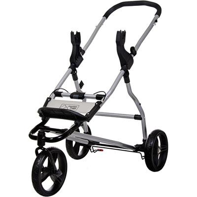 Adaptateur clip 25 pour poussette swift ou mini Mountain buggy